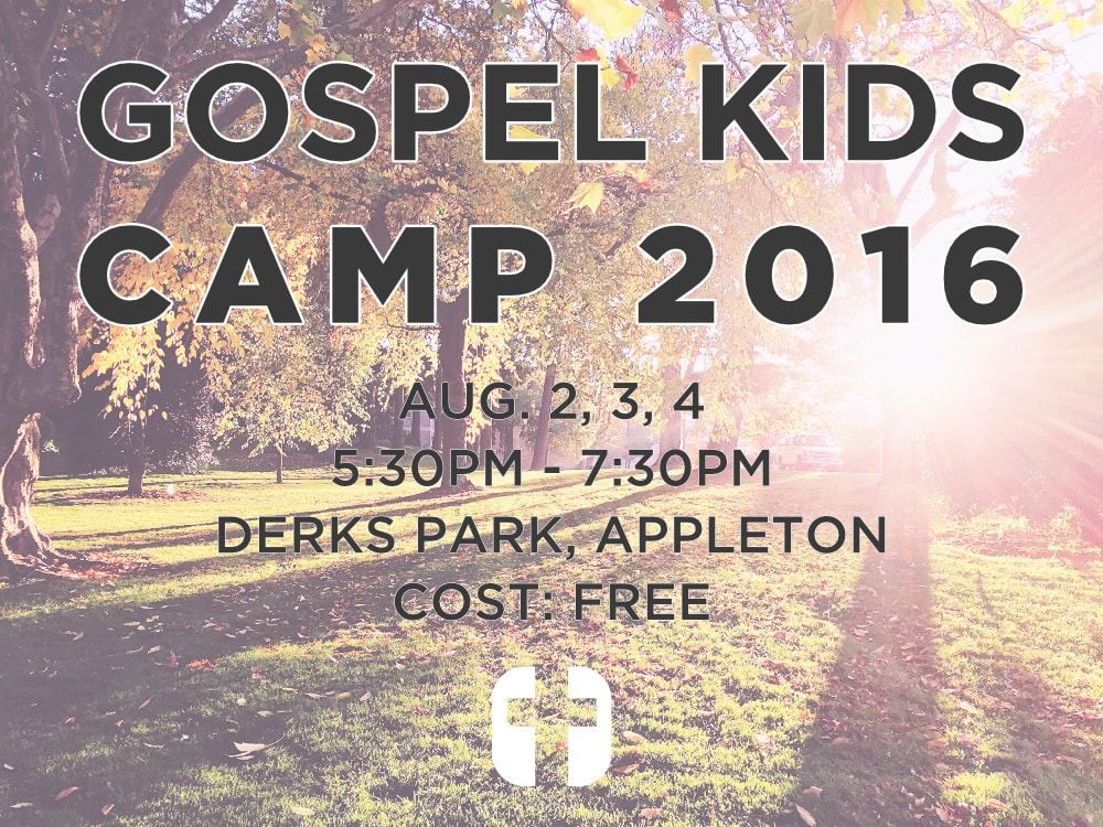Gospel Kids Camp 2016