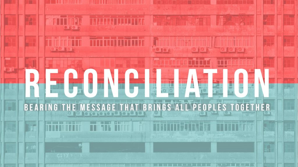 The Attitude of Reconciliation