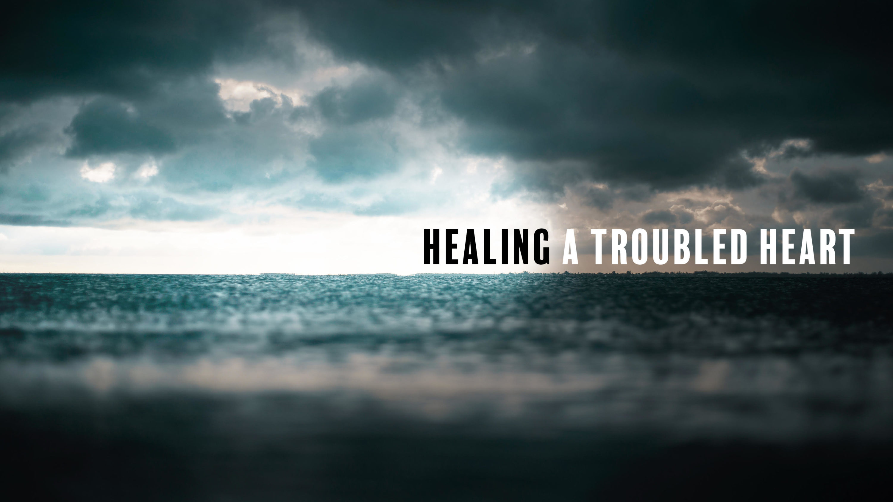 Depression – Healing a Troubled Heart
